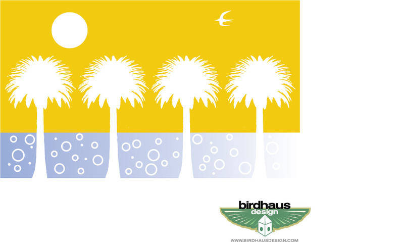 free vector Date Palms
