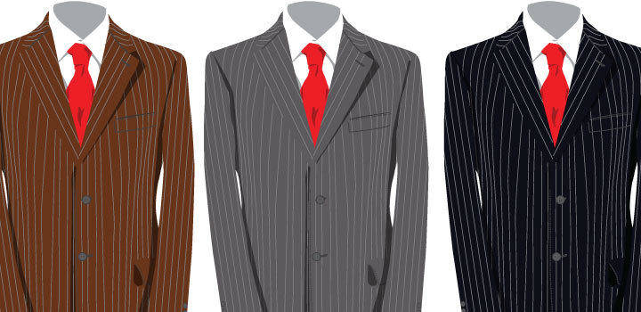 free vector Tailor Suits Vectors