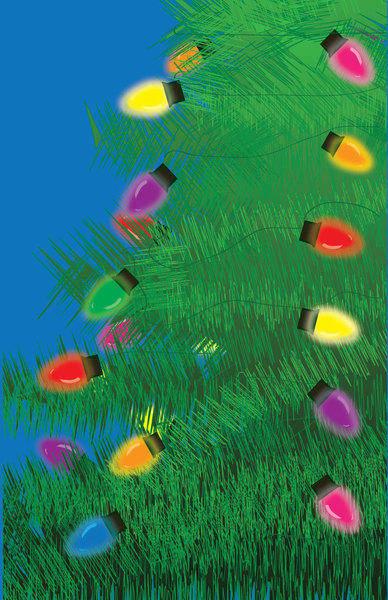 free vector Christmas Lights