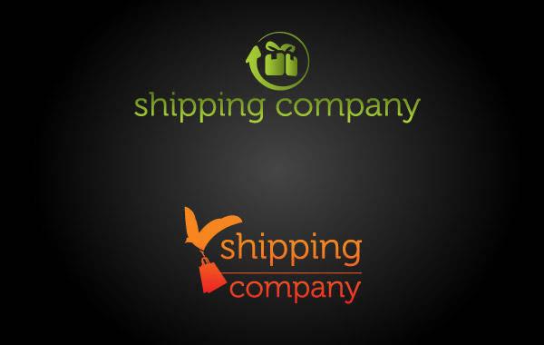 Shipping Company Logo Vector 02