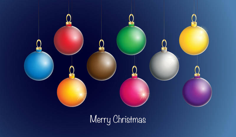 free vector Christmas Ornament Vectors