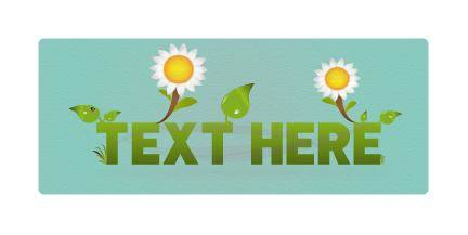 Eco Green Vector Banner