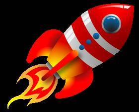 free vector Retro Rocket Vector