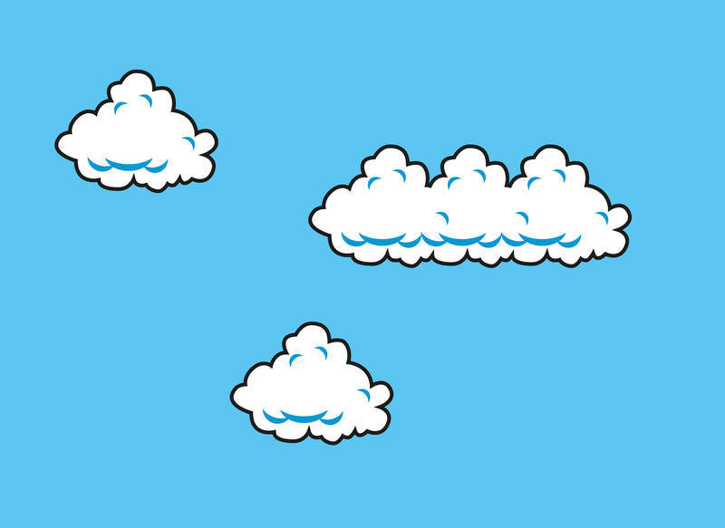 free vector Mario Cloud Vectors