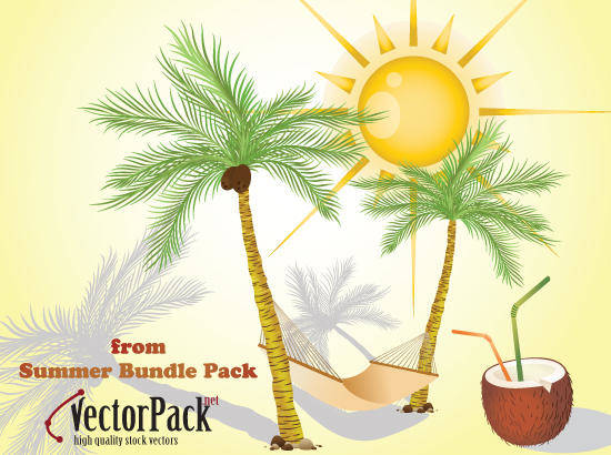 free vector Summer Bundle Free Vectors