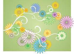 free vector Flower Vector Daisies