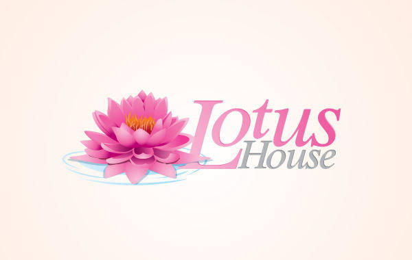 free vector Lotus Flower Logo