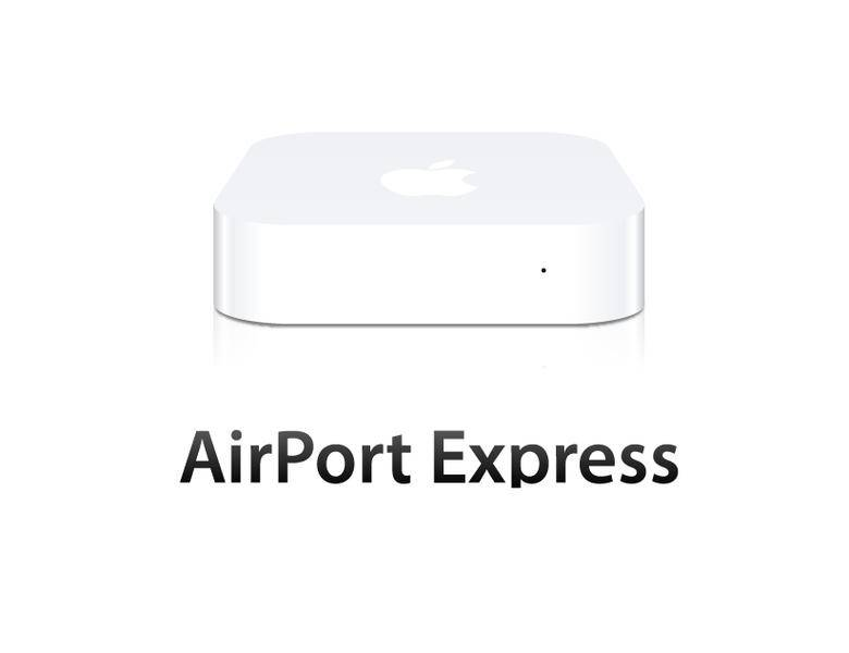 free vector Apple Airport Express 2012