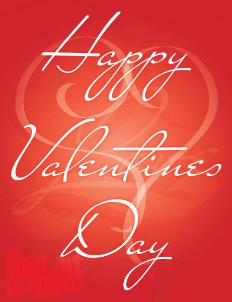 free vector Happy Valentines Day Vector