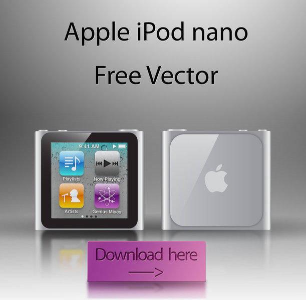 free vector IPod nano Free Vector