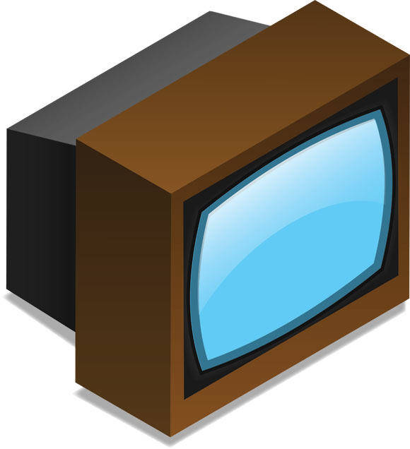 free vector TV set