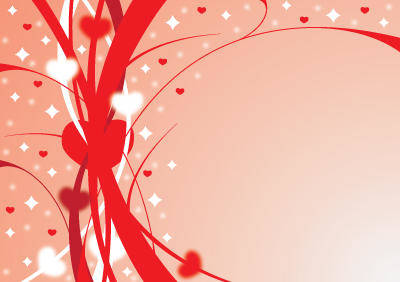 free vector Ribbons of love