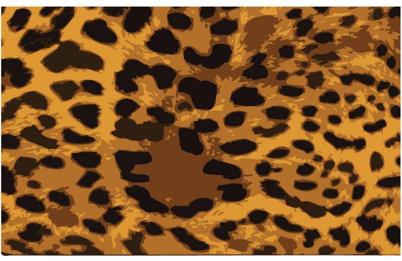 free vector Leopard Skin Vector