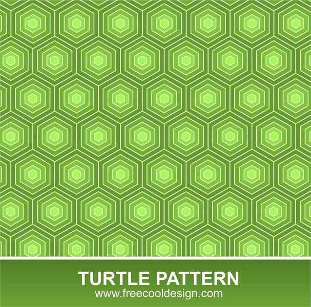 free vector Free Turtle Pattern