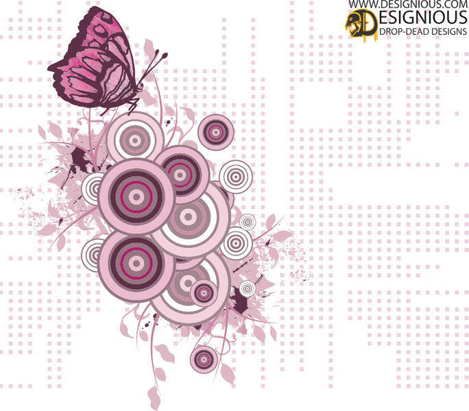 free vector Free Butterfly Vector Illustration