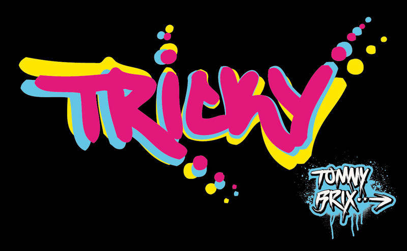 free vector TRICKY - design Tommy Brix