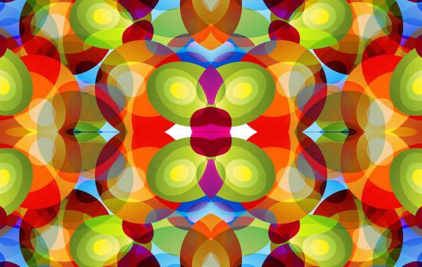 free vector Kaleidoscope Background