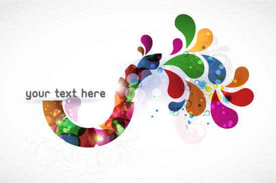 free vector Background Vector Abstract Colorful Illustration