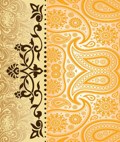 Vintage Vector Background Design