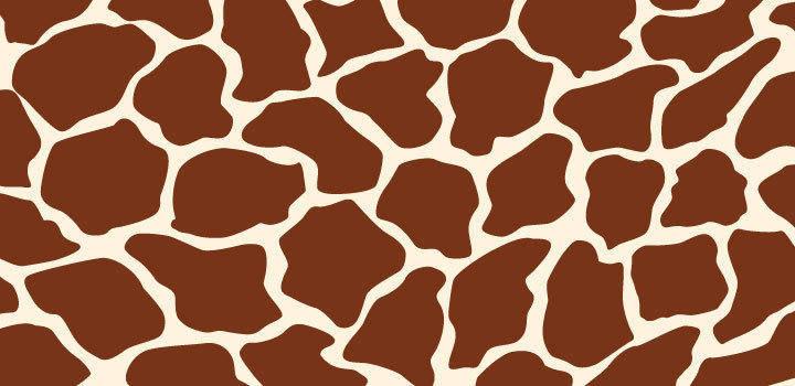 free vector Giraffe Texture Vector