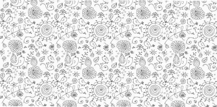 Nice Floral Vector Background