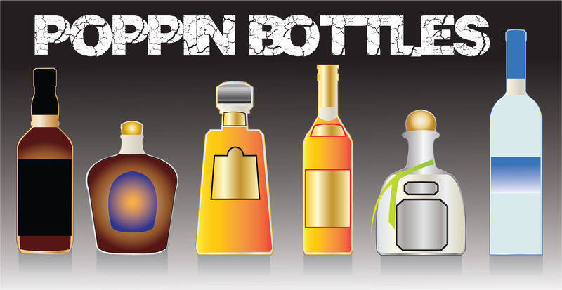 free vector Poppin Bottles