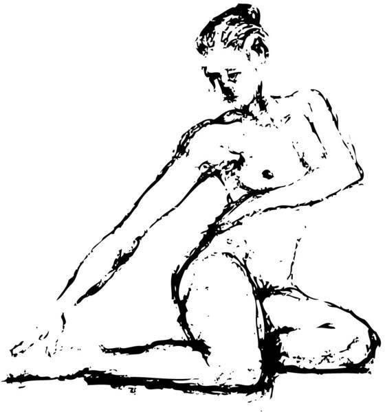 free vector Sketch of Human Figure Vector