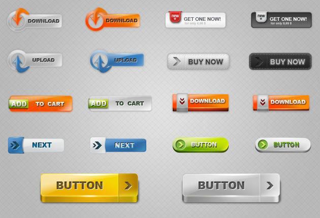 Free Download Button Vectors 2