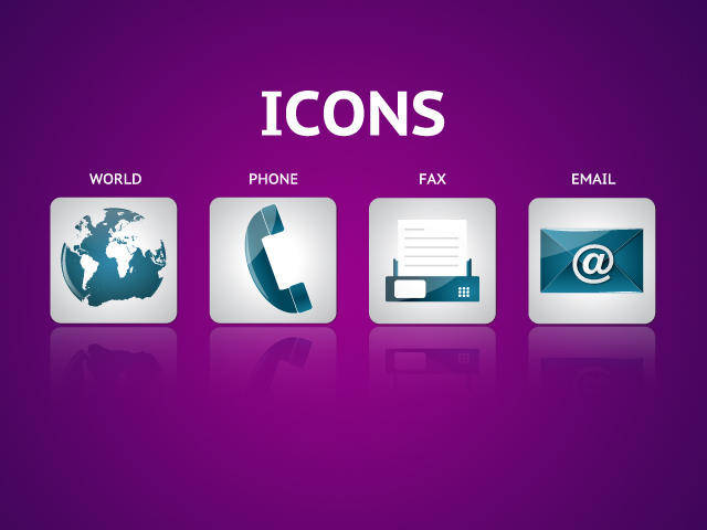 free vector Contact Icon Vector Pack