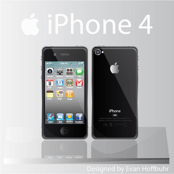 free vector Free iPhone 4 Vector