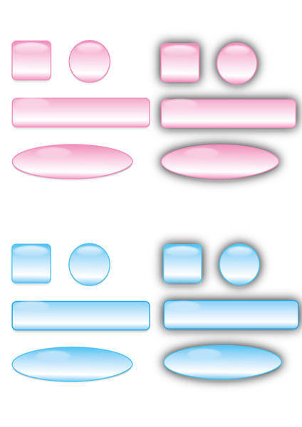 free vector Free Glass Buttons Vectors and Bars