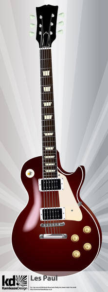 free vector Les Paul Guitar