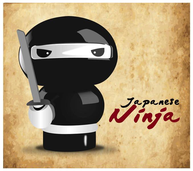free vector Japanese Ninja