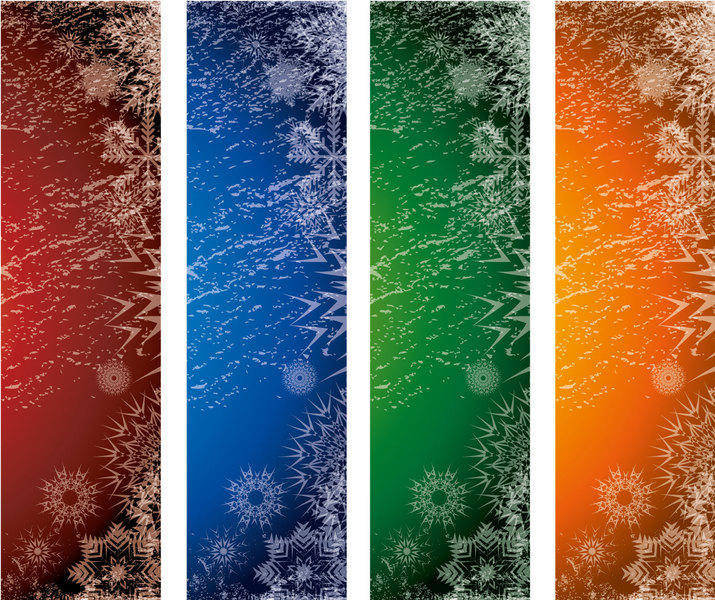 Xmas Vector Banners 160*600