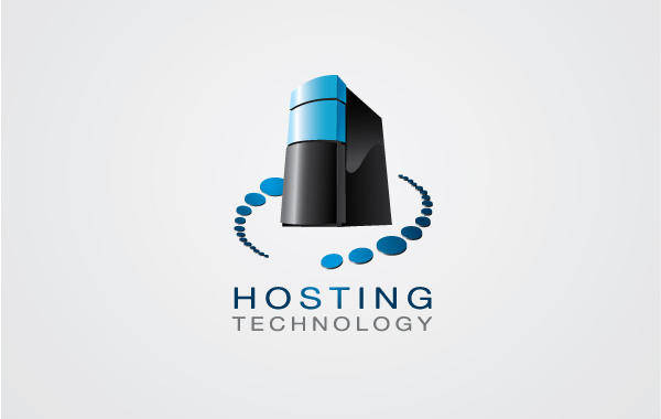 free vector Hosting Logo 02