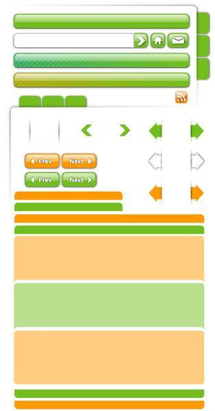 free vector Free Vector Web Page Elements Part 1