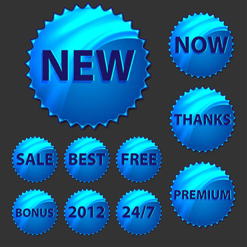 free vector Hologram Sticker Vectors