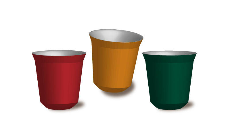 free vector Nespresso Pixie Cup Vector for free