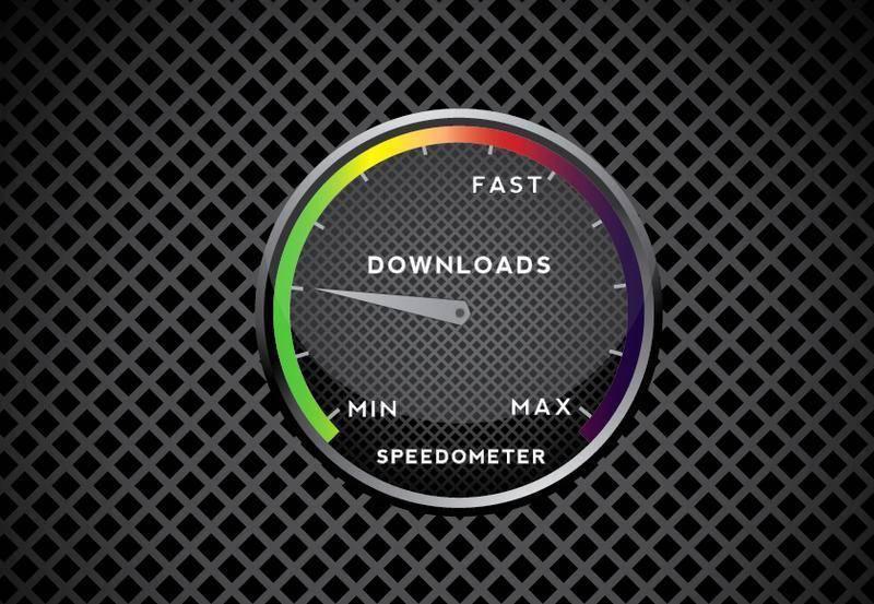 free vector Free Vector Speedometer