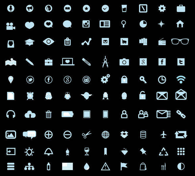free vector Free Fresh Icons Vector Pack