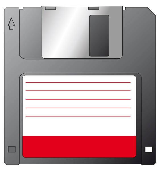 free vector Vector Diskette
