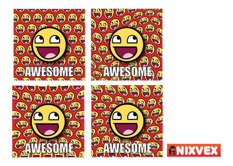 free vector NixVex Awesome Meme Free Vector
