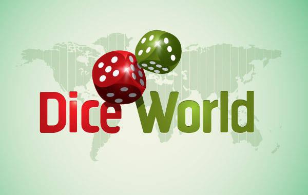 free vector Dice World