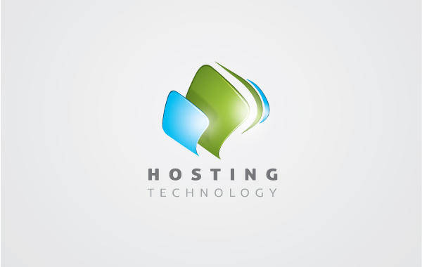 free vector Hosting Logo 01