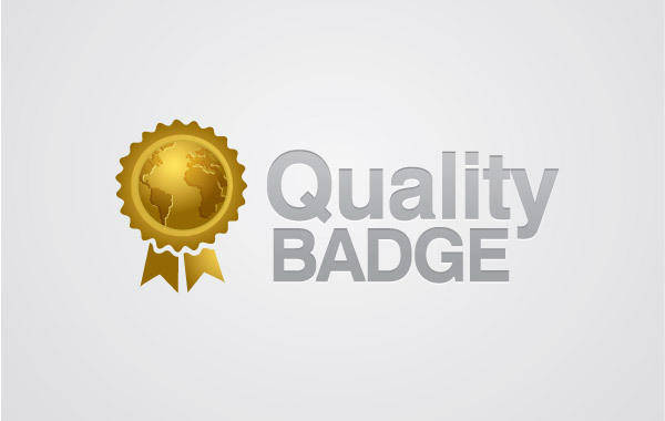 free vector Quality Badge