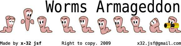 free vector Worms Armageddon