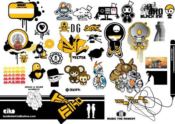 free vector Free vector pack  4