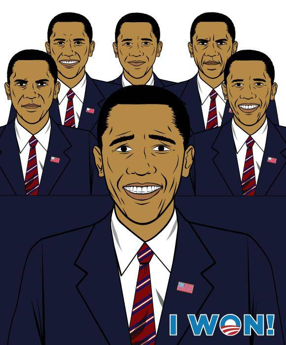 free vector Barack Obama mix