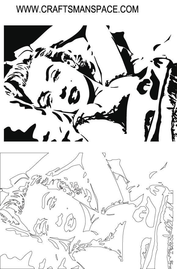 free vector Marilyn Monroe