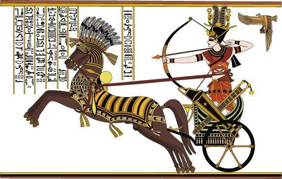 free vector Ramesses II in the Battle of Kadesh